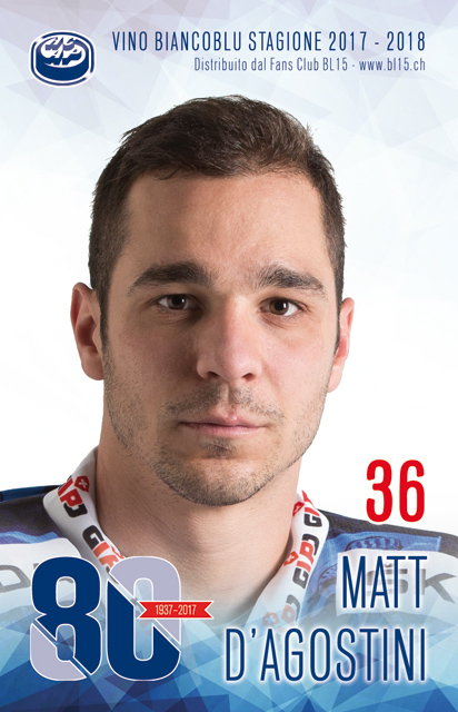36 Matt D'Agostini