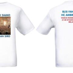 Vasco Rossi BL15 t-shirt e targa magnetica